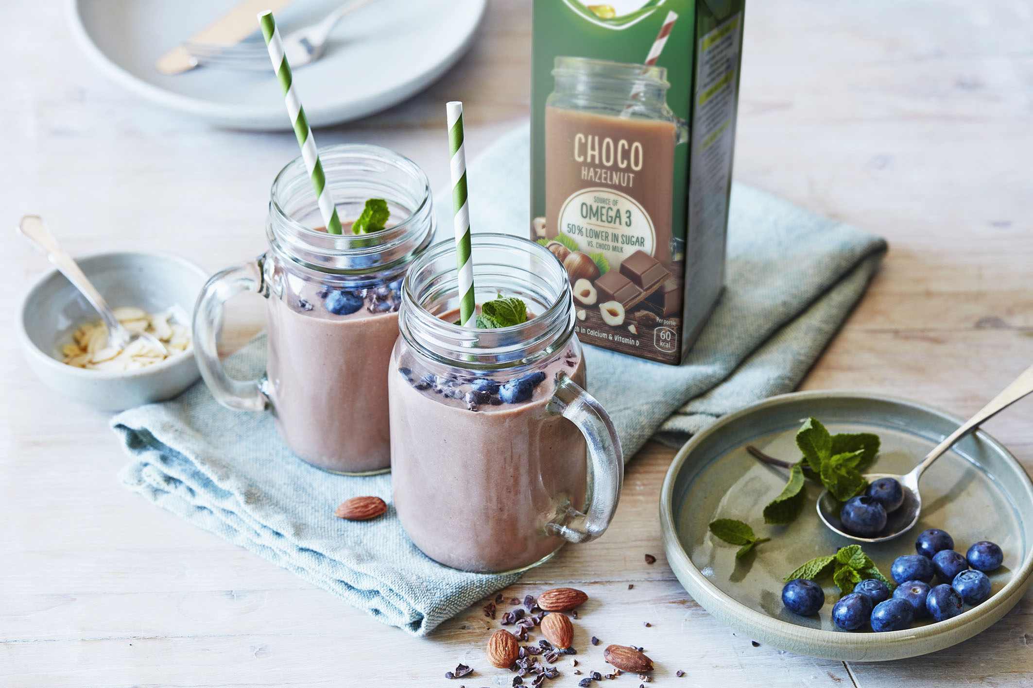 recipe image Choconut-peersmoothie