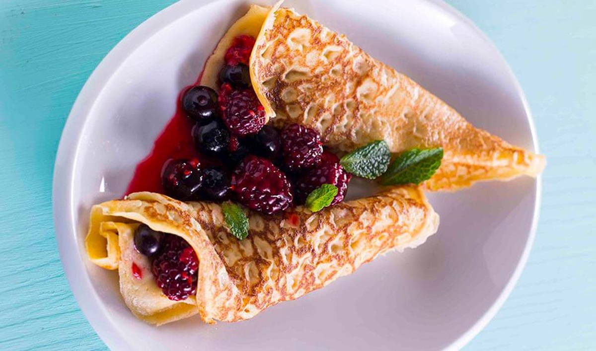 recipe image Crepes de frutos silvestres
